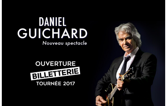 Concert Daniel Guichard à Niort