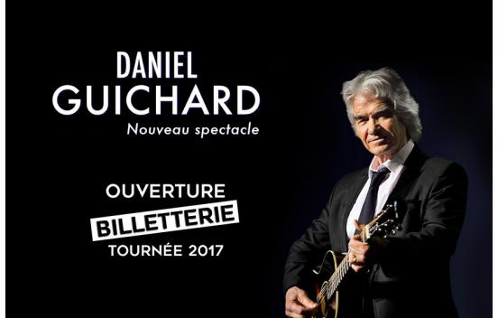 Concert Daniel Guichard à Trélazé