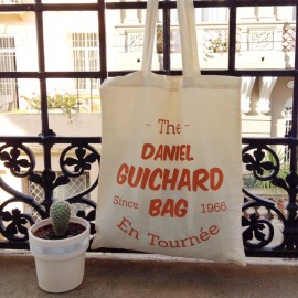 Sac en toile « THE DANIEL GUICHARD BAG »
