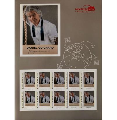 Planche de timbres Daniel Guichard