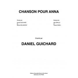Partition - Chanson pour Anna