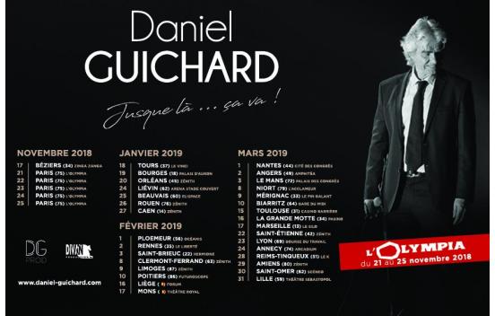 Concert Daniel Guichard à Saint-Étienne
