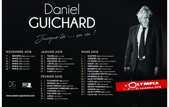 Concert Daniel Guichard à Saint-Omer
